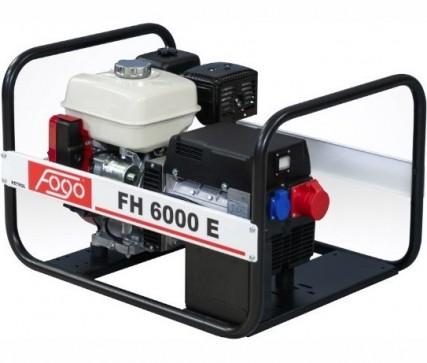 Бензогенератор FOGO FH 6000 E