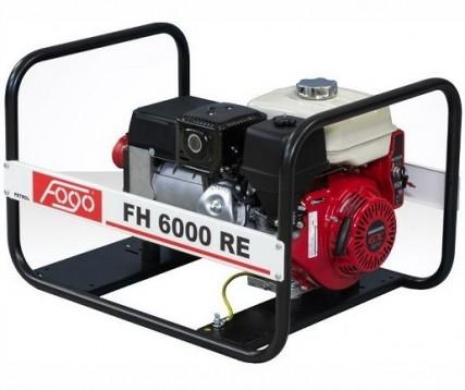 Бензогенератор FOGO FH 6000 RE
