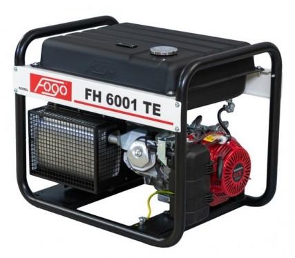Бензогенератор FOGO FH 6001 TE (Бак 45 литров)