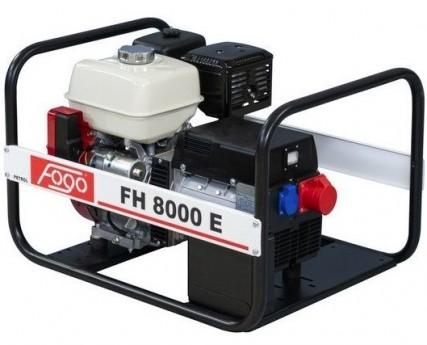 Бензогенератор FOGO FH 8000 E