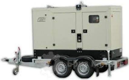 Дизельный генератор FOGO FDG 45PT (на шасси)