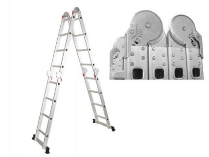 Лестница телескопическая 210 см Startul